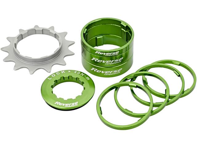 Reverse Single Speed Kit - Cassette - verde